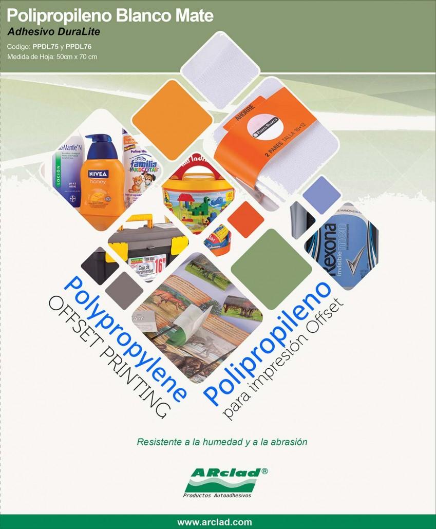 Materiales Autoadhesivos Para Impresión Offset Y Serigrafía Coprodi